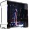 追风者 515ETG双侧透电脑游戏水冷机箱(3毫米铝材/4毫米钢化玻璃/RGB灯控/背线SSD防尘静音)银色产品图片1