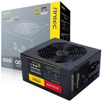 安钛克 额定500W EAG500 PRO 电源(80PLUS金牌/半模组/支持背线/主动式PFC/台式机电源/电脑电源)产品图片主图