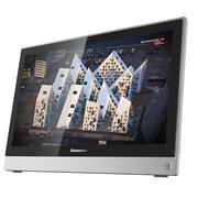 联想 扬天S5130 23英寸一体电脑 (i3-6100U 4G 1T 2G独显 Wifi DVD刻 win7-64位)银色