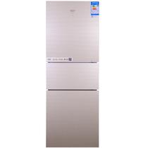 澳柯玛 BCD-268WMG 268升 三门冰箱 风冷保鲜 智能温控(金)产品图片主图