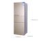 澳柯玛 BCD-268WMG 268升 三门冰箱 风冷保鲜 智能温控(金)产品图片2