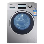 海信 XQG80-B1402FPCI 8公斤 一级能效 BLDC变频 1400转 自动添加 旋瀑洗 滚筒洗衣机(银色)