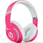 Beats Studio2.0 头戴式耳机 - 粉色  录音师二代 HiFi 降噪 带麦