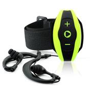 月光宝盒 HF100 8GB MP3播放器 运动超薄便携防水 迷你播放器 可连耳机音箱 绿色