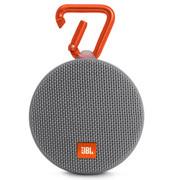 JBL Clip2 便携蓝牙音箱 户外无线迷你小音响 防水设计 超长播放 高保真无噪声通话 音乐盒2 灰色