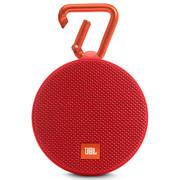 JBL Clip2 便携蓝牙音箱 户外无线迷你小音响 防水设计 超长播放 高保真无噪声通话 音乐盒2 红色