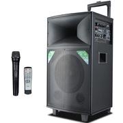索爱 SA-T26 户外拉杆音箱 广场舞音响便携式大功率 移动扩音器带无线麦克风