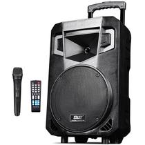 先科 A10广场舞拉杆音箱 蓝牙户外便携式音响 大功率带无线麦克风扩音器产品图片主图