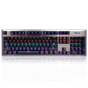 宜博 K727 六色混彩机械键盘 104键 黑色 青轴