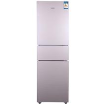 澳柯玛 BCD-192MUG 192升 三开门冰箱 深冷速冻 节能保鲜(金)产品图片主图