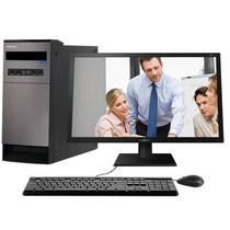 清华同方 精锐X200-BI03  20.7英寸台式电脑(G3900 4G DDR4 500G集成显卡 前置4*USB WIN10)产品图片主图