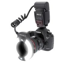 美科 MK-14EXT-C 环形闪光灯 适配佳能单反相机产品图片主图