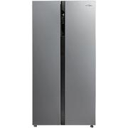 美的 BCD-520WKM(E) 520升 风冷无霜对开门冰箱 电脑控温 纤薄机身 节能静音(泰坦银)