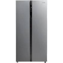 美的 BCD-520WKM(E) 520升 风冷无霜对开门冰箱 电脑控温 纤薄机身 节能静音(泰坦银)产品图片主图