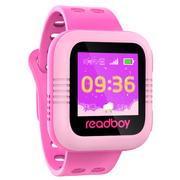 读书郎 W2c 智能手表 儿童电话手表 GPS定位防丢失手环 360智能防护安全电话手表手机 蔓越玫