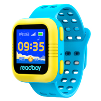 读书郎 W2c 智能手表 儿童电话手表 GPS定位防丢失手环 360智能防护安全电话手表手机 天空蓝产品图片主图