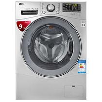 LG WD-VH454D5 9公斤 DD变频 全自动 滚筒 洗衣机 速净喷淋 大容量(奢华银色)产品图片主图