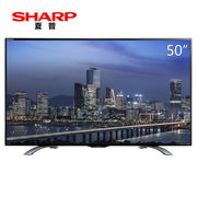 夏普 LCD-50DS6000A 50英寸 4K智能液晶电视(黑色)