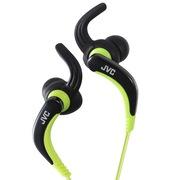 杰伟世 HA-ETX30-B 入耳式运动耳机 潮流动感曲轴支撑 全身水洗 防水等級IPX5/IPX7相当(黑色)