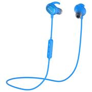 QCY QY19 魅影 运动蓝牙耳机 无线耳麦 立体声音乐蓝牙耳机 迷你智能4.1 苹果小米通用 蓝色