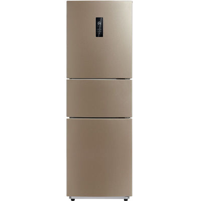 美的 BCD-226WTM(E) 226升 风冷无霜电脑控温三门冰箱 中门宽幅变温 节能静音(芙蓉金)产品图片1