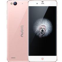努比亚 布拉格S 玫瑰金 移动联通电信4G手机 双卡双待产品图片主图