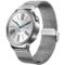 华为 watch 智能手表 运动手表测心率防水安卓运动手环不锈钢编织表带产品图片1