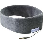 SleepPhones 经典有线款SC5GM 睡眠耳机 有效阻隔杂音 柔软的头带和嵌入式设计 可当音乐眼罩使用 灰色