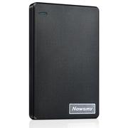 纽曼 清风 500G 轻薄 防震 安全 稳定 快速 液压平衡滚轴系统 2.5英寸 USB3.0 移动硬盘 风雅黑
