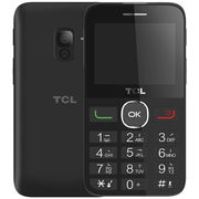TCL 老人手机 121 黑色 移动联通2G手机 双卡双待