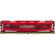 英睿达 铂胜运动LT系列DDR4 2400 16G台式机内存 迷彩红