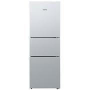 西门子  BCD-279(KG28FA29EC) 279升 三门冰箱 零度保鲜 滤膜保湿 LED内显(拉丝银)