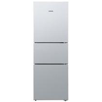 西门子  BCD-279(KG28FA29EC) 279升 三门冰箱 零度保鲜 滤膜保湿 LED内显(拉丝银)产品图片主图
