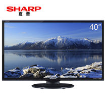 夏普 LCD-40M3A 40英寸 全高清液晶电视 日本原装面板(黑色)产品图片主图