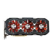 影驰 GTX 1060 GAMER 1556(1771)MHz/8GHz 6G/192Bit D5 PCI-E显卡
