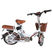 科迅 乐享16锂电池电动自行车 电动车锂电车代步车电瓶车