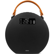 MIFA M9 经典黑 APP智能无线蓝牙音箱4.0便携式迷你插卡低音炮手机音响
