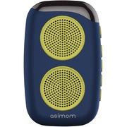 阿希莫 DS-1510 M15 穿戴式健步蓝牙音响 可插卡迷你蓝牙音箱 天蓝色