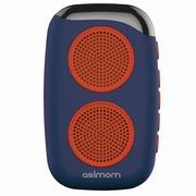 阿希莫 DS-1510 M15 穿戴式健步蓝牙音响 可插卡迷你蓝牙音箱 水蓝色