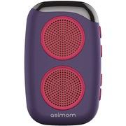 阿希莫 DS-1510 M15 穿戴式健步蓝牙音响 可插卡迷你蓝牙音箱 紫色