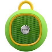 不见不散  BV270 户外智能蓝牙音箱4.0 便携式迷你低音炮插卡小手机音响  清新绿