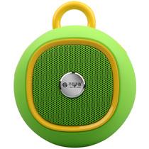 不见不散  BV270 户外智能蓝牙音箱4.0 便携式迷你低音炮插卡小手机音响  清新绿产品图片主图