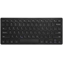航世 HW098C 巧克力按键 便携无线键盘 黑色产品图片主图