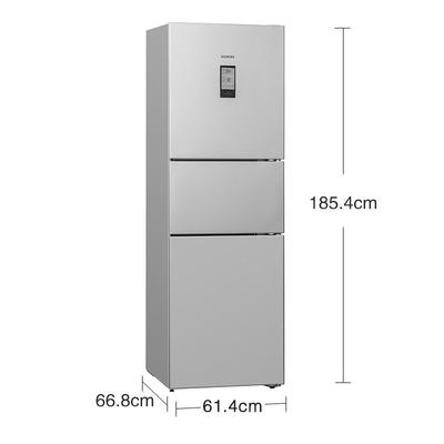 西门子  BCD-306W(KG32HA26EC) 306升 风冷无霜 三门冰箱 空气过滤 LCD液晶屏(不锈钢色)产品图片2