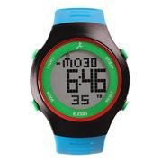 宜准 L008B12户外运动系列超薄手表休闲表男士电子表蓝色