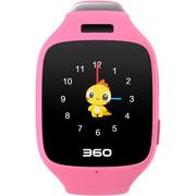 360 儿童手表 巴迪龙儿童手表5C W602 儿童卫士 智能彩屏电话手表 樱花粉