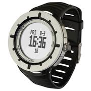 宜准 H025电子表登山表户外运动手表男多功能高度温度计指南针电子表