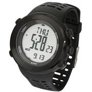 宜准 H017E11电子表登山表海拔指南针多功能手表防水运动表女士手表