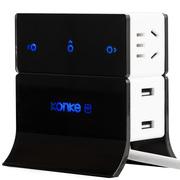 控客 KK-SS3 小k智能触控分控远程控制定时器立体拓展USB排插电源转换器