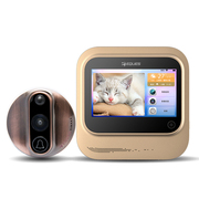移康智能(eques) R26F 电子猫眼 可视门铃 自动拍照 红外夜视 手机视频通话 家用防盗监控猫眼
